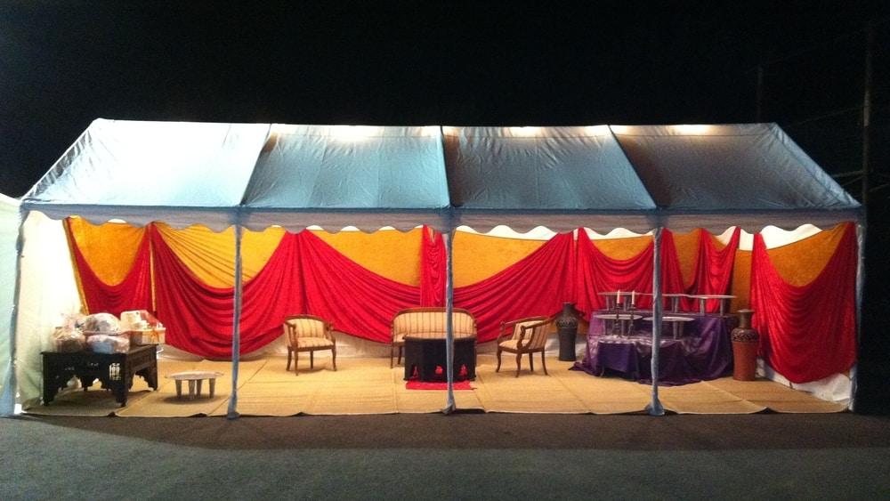 אוהל הצללה בדרום