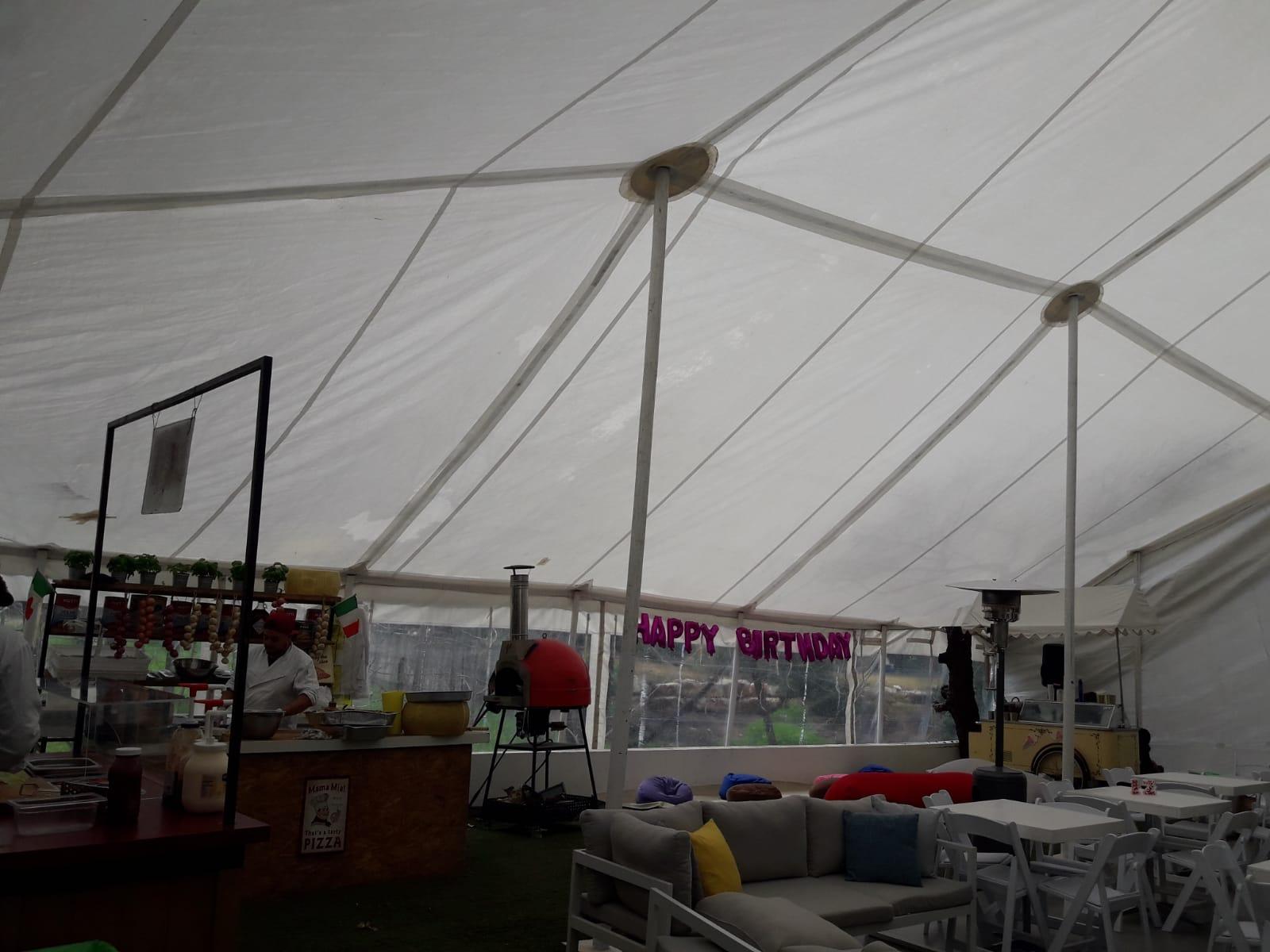 אוהל מונע גשם