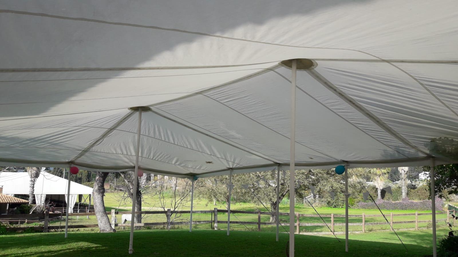 אוהל לאירוע בבני ציון
